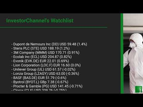 InvestorChannel's Disinfection Watchlist Update for Thursd ... Thumbnail