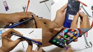 OPPO F9 PRO DURABILTY TEST- Scratch BURN and Bend TESTED!