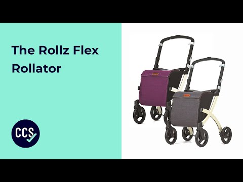 Rollz Flex Rollator - Shop In Style