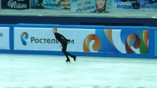 Julia Lipnitskaia, FS at practice, Russian Nationals 2014
