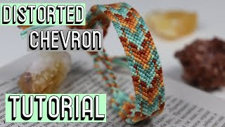DISTORTED CHEVRON || Friendship Bracelets