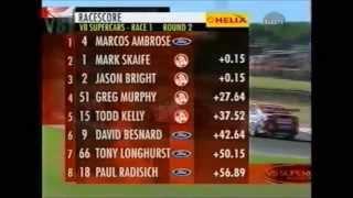 V8 Supercars Flashback - Marcos Ambrose's First #V8SC Race Win (Phillip Island 2002)