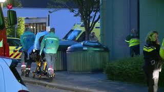 Bewoner gewond door brand in zorgcentrum de Hoven in Lelystad, 30 bewoners geëvacueerd
