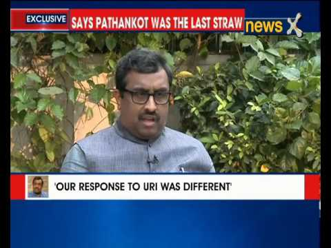 Exclusive Interview of RamMadhav on NewsX