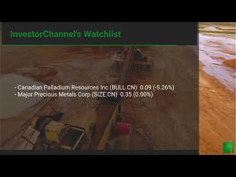 InvestorChannel's Palladium Watchlist Update for Wednesday ... Thumbnail