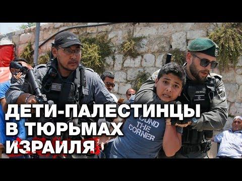 В тюрьмах Израиля истязают палестинских детей сотнями
