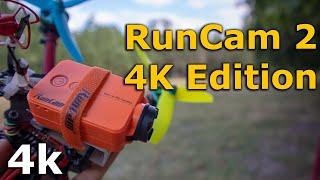 RunCam 2 4K Edition экшн камера, cравнение с GoPro 6 и RunCam 5!