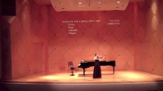 Bach Sonata No. 2 in A Minor I. Grave - II. Fuga