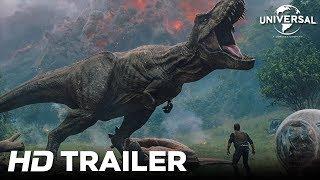 Jurassic World: Reino Ameaçado - Trailer Internacional 1 (Universal Pictures) HD - dooclip.me
