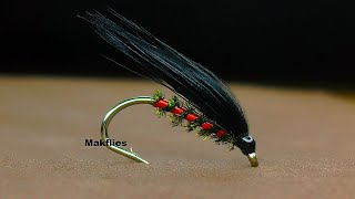 Fly Tying A Black Holographic Cormorant By Mak 🔥🔥