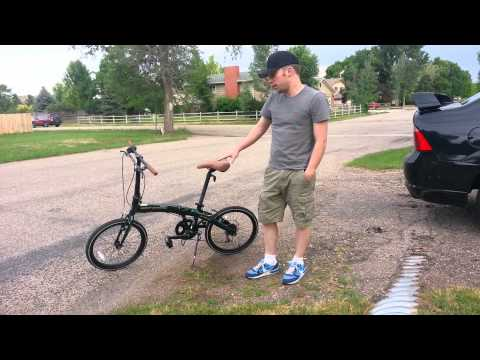 Gensis city cruiser folding bike review