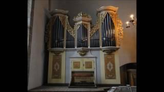 J.S.Bach (1685 - 1750): Jesus Christus, unser Heiland BWV 665 - Walter Gatti, organ (rehearsal)