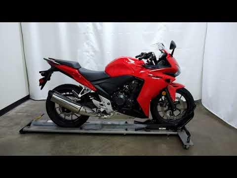 2014 Honda CBR®500R in Eden Prairie, Minnesota - Video 1