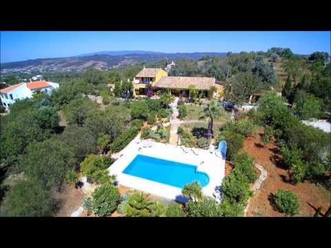 Spectacular Traditional Farmhouse With Pool and Views to the Coast and Mountains