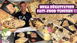 MÉGA DÉGUSTATION FAST-FOOD TUNISIEN à Hammamet !!