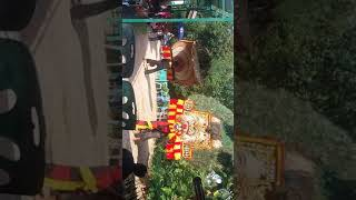 "Pembarong ""Gembong Singo Mudho""dari Desa Bukit Sidomulyo 2"