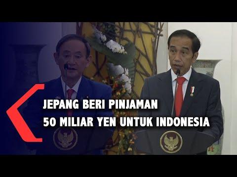 jepang beri pinjaman miliar yen untuk indonesia