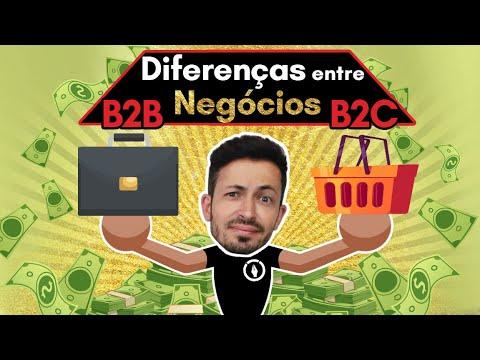 DIFERENÇAS ENTRE NEGÓCIOS B2B E B2C