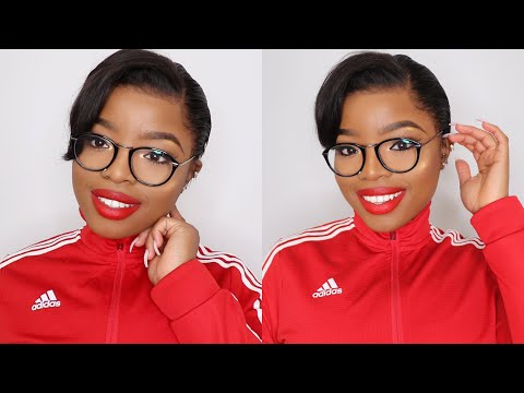 Makeup for Glasses || Full Face Makeup Tutorial