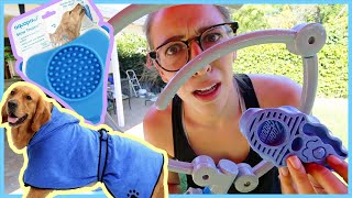 Testing Dog Bath Products!