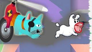 Новые приключения Мимпи. #13. Кот-вертолет и телепорт. MIMPI мультик игра для детей