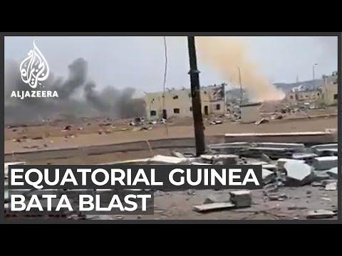 Huge blasts in Equatorial Guinea's Bata kill many, wound hundreds