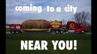 Big Idaho Potato Tour 2014- This is my job