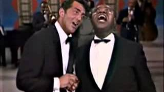 Dean Martin was born on this day in 1917 This duet with Louis Armstrong is charming