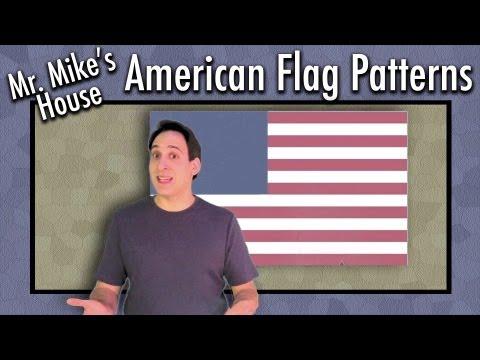 Preschool Learning: American Flag Patterns