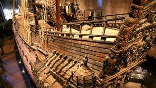 The VASA...  & Museum in Stockholm.  Filmed Aug 2012