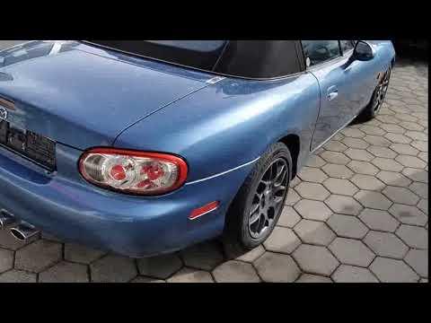 Video Mazda MX-5 1.6 i Roadster. neues Verdeck. Guter Zustand.