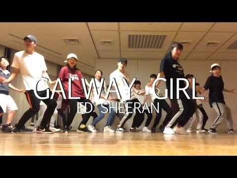 Galway Girl - Ed Sheeran - Choreography by Takuya (видео)