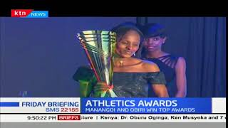 Elijah Manangoi and Hellen Obiri bag male and female athlete of the year