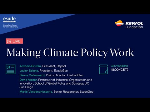 Making Climate Policy Work