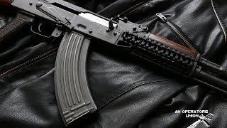 AKM AK47 / AK74 Zenit Rail System Heat Torture Test