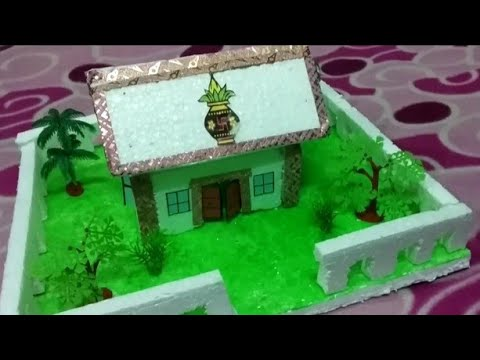 Download Thermocol House Models For School Project Video 3GP Mp4 FLV