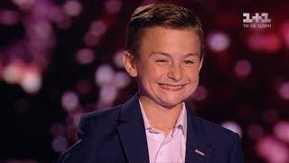 """Дмитрий Чакун """"One way ticket"""" – выбор вслепую – Голос. Дети 4 сезон"""