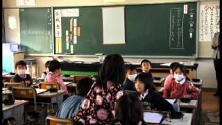 熊野町小学校低学年書道科