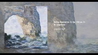 String Quartet no. 8, Op. 192 no. 3