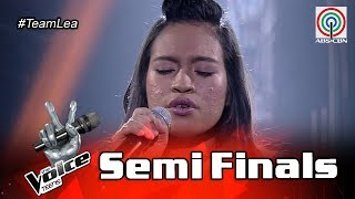 The Voice Teens Philippines  Semifinals: Mica Becerrro - Loving You