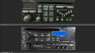 Unlock Chevy / GM Delco Theftlock Radio 1990's-2000's