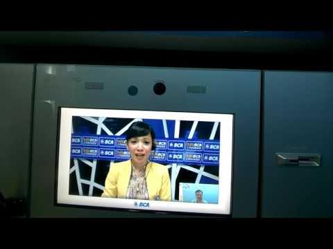 Video Banking BCA via Google Glass.
