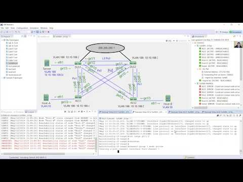 CCNPv7 SWITCH - Practice Skills Assessment - YouTube