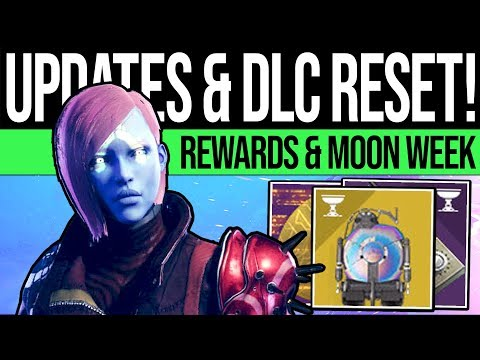 Destiny 2 | DLC WEEKLY RESET & MOON WEEK! Vendors, Rewards, Activities & Trailer! (16th July)