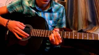 """Как Играть """"James Blunt - You`re Beautiful"""" Урок На Гитаре (Для Начинающих)"""