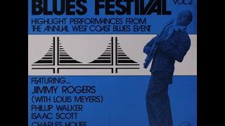 Isaac Scott, Charles Houff, Big Joe Duskin, Phillip Walker - San Francisco Blues Festival