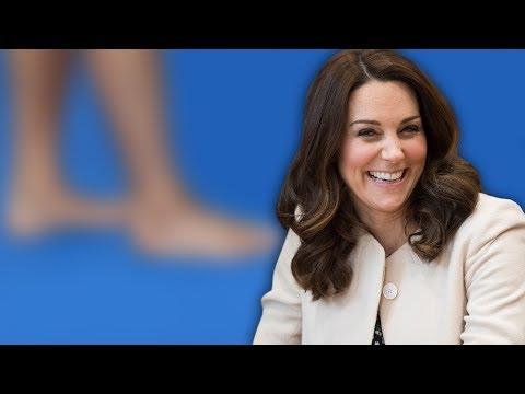 Herzogin Kate - Herrlich normal! Perfekt gestylt, doch ihre Füße tanzen aus der Reihe