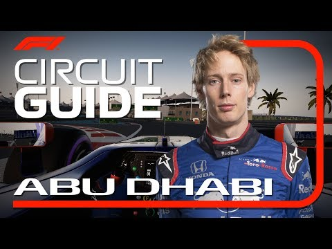 Brendon Hartley's Virtual Hot Lap of Yas Marina | 2018 Abu Dhabi Grand Prix