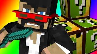 Minecraft: CAMEL LUCK BLOCKS BATTLE vs. Jerome