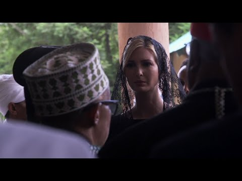 During a visit to Addis Ababa, Ivanka Trump honoured the victims of the Ethiopian Airlines crash that occurred soon after takeoff in March 2019. (April 15)